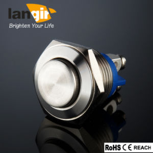Stainless Steel Push Button Switch V16 (16mm) Waterproof pictures & photos