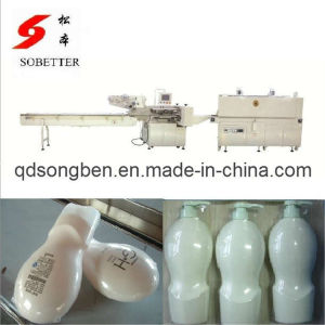 Cosmetic Shrink Packaging Machine with Feeder pictures & photos