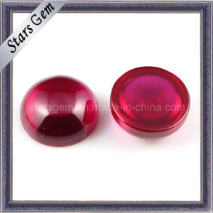 Synthetic 5# Ruby Round Caboch0n pictures & photos
