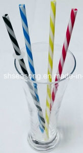 Spiral Drinking Straw / Plastic Straw (SS5105) pictures & photos