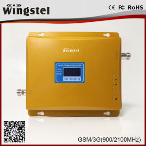 30dBm 2000m2 Dual Band 900/2100MHz 3G 4G Mobile Signal Booster pictures & photos