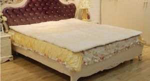 Luxurious Sheepskin Underlay/ Bed Pad Patchwork pictures & photos