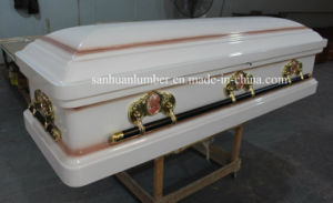 Paulownia Funeral Caskets (WM01) pictures & photos