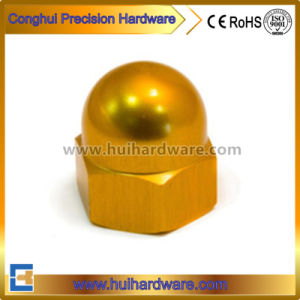 Aluminum Hex Cap Nut, Titanium Hex Acorn Nut Supplier pictures & photos