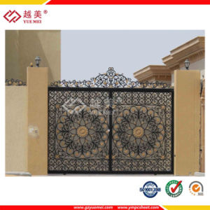 Embossed Door Panel Sheet/Solid Embossed Polycarbonate Sheet for Decoration Construction pictures & photos
