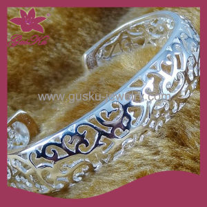 High Quality Silver Jewelry Plating 925 Silver Bangle (2015 Gus-Cpbl-077)