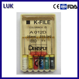 Hot Sale High Quality Dentsply Endo K Files (CE Certificated) pictures & photos