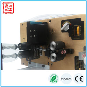 Dual Channel Teflon Wire Cutting Stripping Twisting Machine pictures & photos