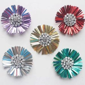 3D Beaded Crystal Rhinestone Applique pictures & photos