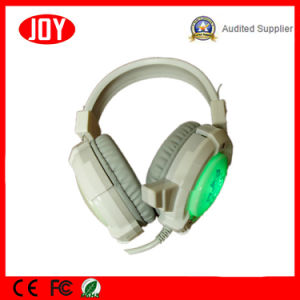 Gaming Headphones LED Light Vibration Stereo Headsets PC Gamer Computer