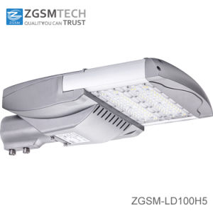 Bridgelux Chips 80W 100W 120W LED Street Light with 7 Years Warranty IP66 Ik10 Rating pictures & photos