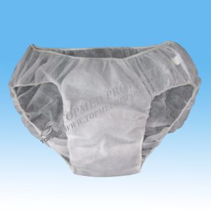 Cheap Sanitary Soft Hand Fell Nonwoven Disposable Men Boxer pictures & photos