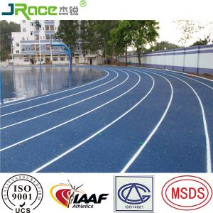 Blue Color Rubber Running Track Used for Playground pictures & photos