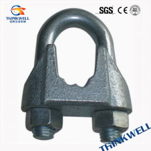 Zinc Plated DIN741 Malleable Iron Casting Wire Rope Clip pictures & photos