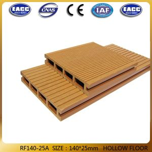 Eco Freind Solid WPC Project Decking 140*25mm
