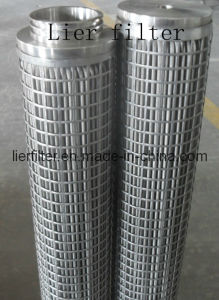 Spinning Melt Filter Cartridge by Stainless Steel Material