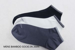 Men′s Bamboo Ankle Socks-13