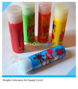 5*43ml Common Color Finger Paint for Students and Kids (CLW06022) pictures & photos