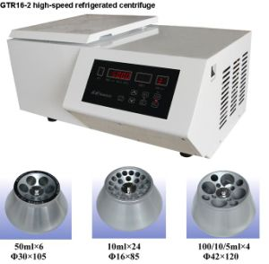 High-Speed Refrigerated Centrifuge (GTR16-2) pictures & photos