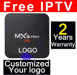 Custom Made Free IPTV Mxqpro-Rk3229 Android Smart IPTV Streaming 4K TV Boxes Rockchip Rk3229 Quad Core pictures & photos