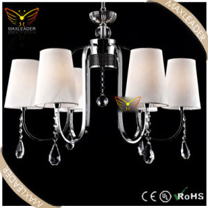 Modern Chandeliers for White Crystal Fabric Decoration (MD7247)