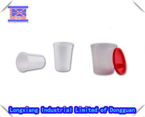 Plastic Water Cup with Lid pictures & photos