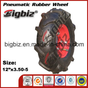 Popular 12X3.50-5 Pneumatic Rubber Wheel Tire for Sale pictures & photos