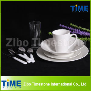 72PCS Porcelain White Dinnerware Set pictures & photos