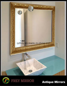 Hot Sale Decorative Washing Room Wall Mirror Frame pictures & photos