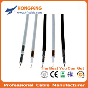 RG6 Drop Coaxial Cable 75 Ohm Transmission pictures & photos