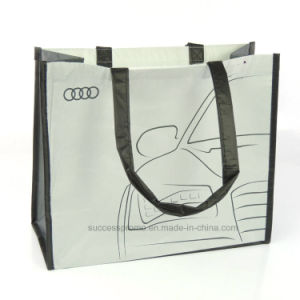 High Quality Reusable Promotion Laminated Recycled RPET Shopping Bag pictures & photos