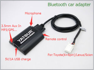 Car Kit Micro Bluetooth Receiver pictures & photos