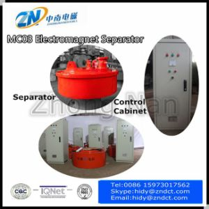 Overhead Electromagnetic Separator for Iron Remove Mc03-40L pictures & photos