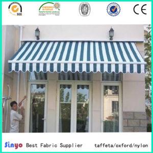 PVC/PU Coated 100% Polyester Oxford Stripe Fabric for Canopy & China PVC/PU Coated 100% Polyester Oxford Stripe Fabric for Canopy ...