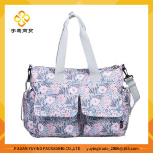 Multifunction Shoulder Mom Bag with Big Capacity Volume