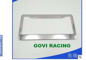 Chromed License Plate Frame with Stainless Steel for America Car pictures & photos