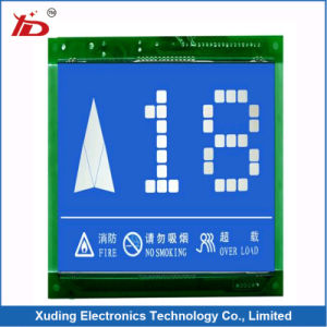 Blue Back White Letter Stn Sigment LCD Display pictures & photos