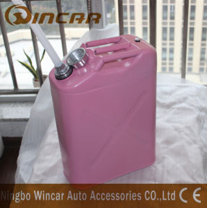 Pink Costomized Color Metal Petrol Jerry Cans