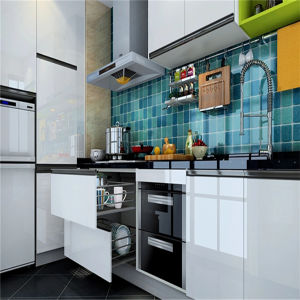 High Gloss Cheap Kitchen Cabinet for Sale pictures & photos