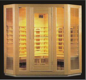 Solid Wood Infrared Sauna with Customized Size (AT-8603) pictures & photos