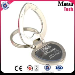 Heart Shaped Digital Photo Frame Keychain for Wedding pictures & photos