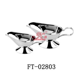 Stainless Steel Sauce Boat (FT-02803)