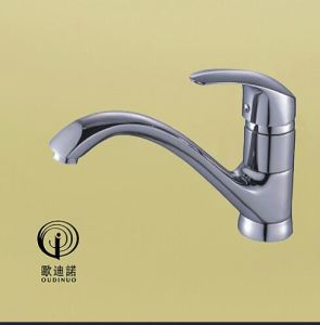 Classic Style Single Handle Brass Wall-Mounteed Kitchen Faucet 68918-1 pictures & photos