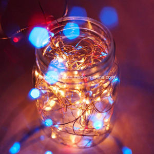 aa battery operated rgb portable light fairy lights christmas new year wedding decoration light set