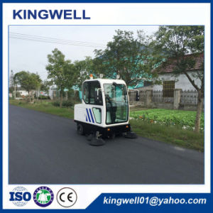 Enclosed Driving Road Sweeper /Factory/Supermarket/Warehouse Using (KW-1900F) pictures & photos