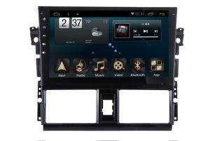 Android 6.0 System Car Navigation GPS for Toyota Vios 10.1 Inch Touch Screen with Bluetooth/WiFi/TV/USB
