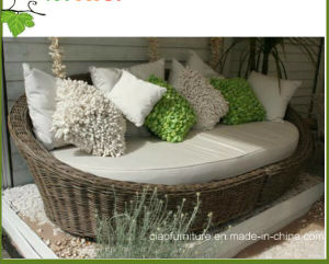 china modern synthetic rattan garden furniture round outdoor wicker