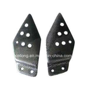 Carbon Fiber Motorcycle Parts Heel Guards for Kawasaki Z1000 Z750