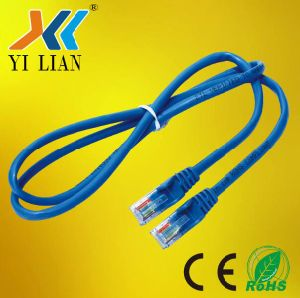 China Hot Sale AMP UTP Network Cable Ethernet Cable Coiled Round ...