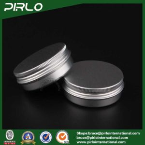 60g, 2oz Silver Aluminum Cosmetic Jars Tin Cream Jars Aluminum Jars for Sale pictures & photos